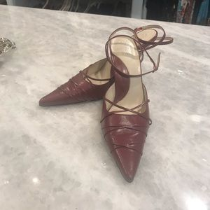 Guess by Marciano, ankle strap heel's. Size 7